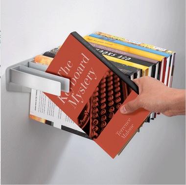 prateleira invisível livros