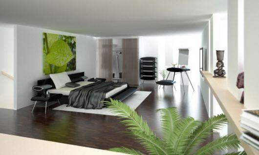 quarto casas minimalistas