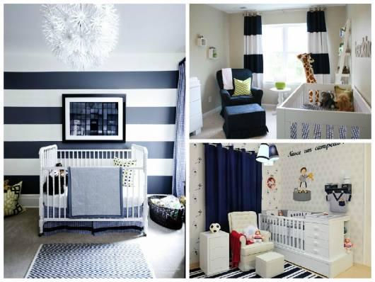 quarto de bebê azul modelos