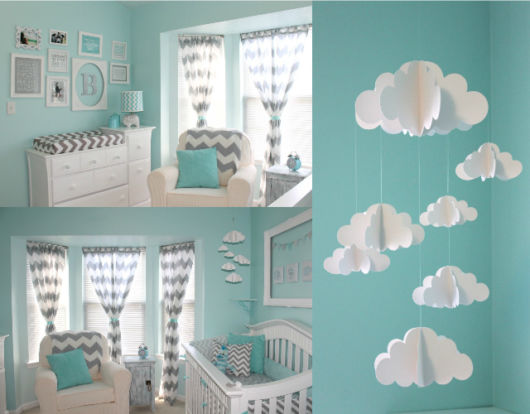 Quarto de bebê azul: Dicas de como decorar e 40 fotos