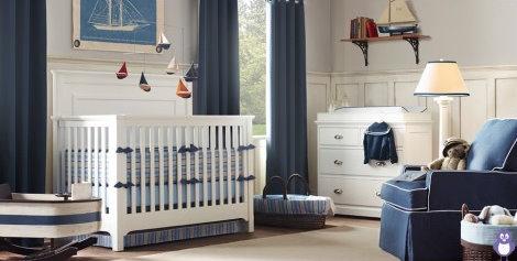 quarto de bebê azul toques de cor menino