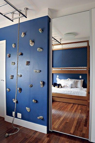 Quarto de menino dicas e 75 ideias de como decorar - Mezzanine jongen ...