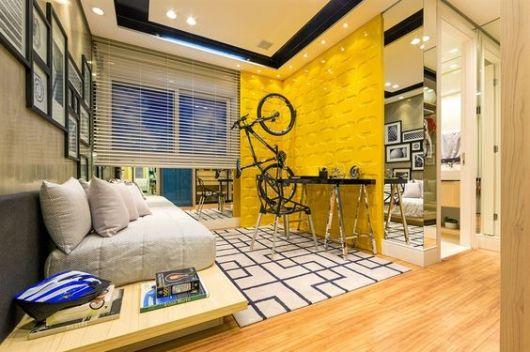 quarto grande e moderno