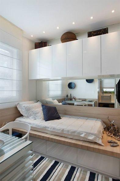 móveis brancos