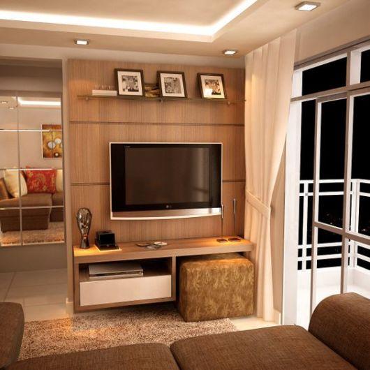 Interior Design Ideas For Home Theater: Rack De Madeira: Dicas + 38 Modelos Incríveis Para Sua Sala