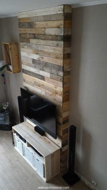 rack de madeira feito de pallet