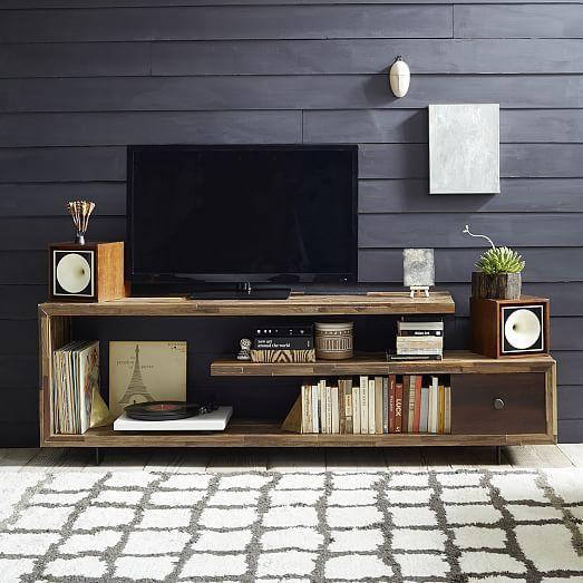 rack de madeira tipo modernos