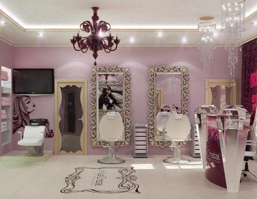Sal o de beleza pequeno decorado 30 inspira es e dicas for Home design e decor shopping
