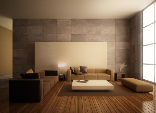 sala de casas minimalistas