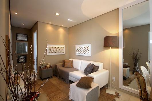 Sala de estar pequena dicas e ideias para decorar!