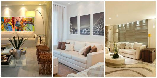 decoração clean e moderna