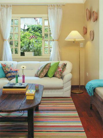Sala de estar pequena dicas e ideias para decorar - Decoracion sala de estar pequena ...