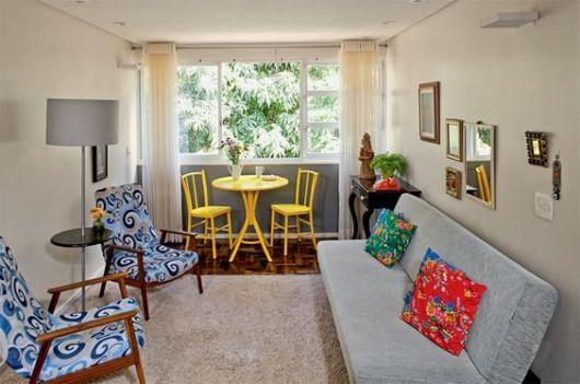 Sala Pequena Simples E Barata ~ Sala de estar pequena dicas e ideias para decorar!