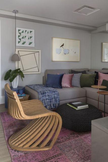 Sala De Estar Pequena Dicas ~ Sala de estar pequena dicas e ideias para decorar!
