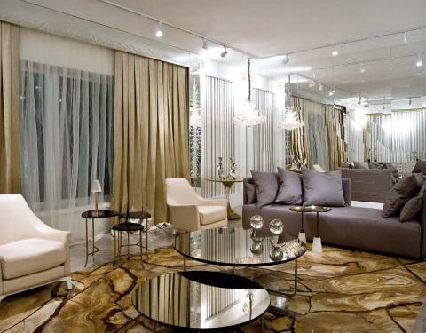 salas com sofá cinza cores