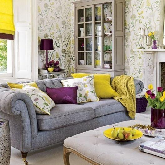 salas com sofá cinza tipos