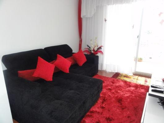 Decoracao De Sala Vermelho E Preto ~ salas com sofá preto vermelho e preto