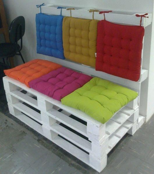 almofadas futón