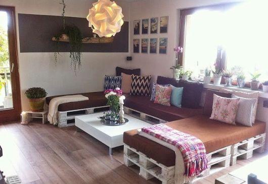 sofá grande com chaise