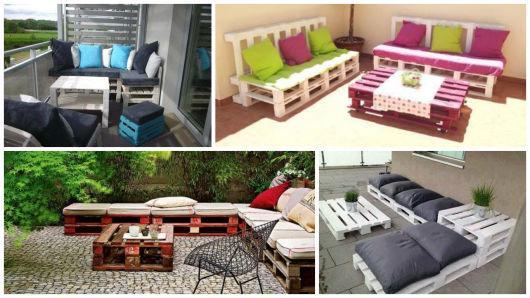 modelos de sofá varanda