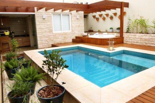 piscina e hidromassagem