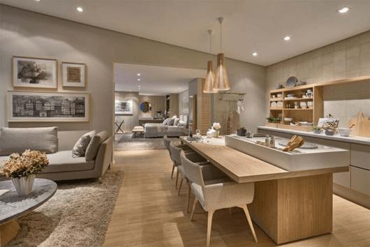 sala-de-estar-e-jantar-integradas-luxuosa