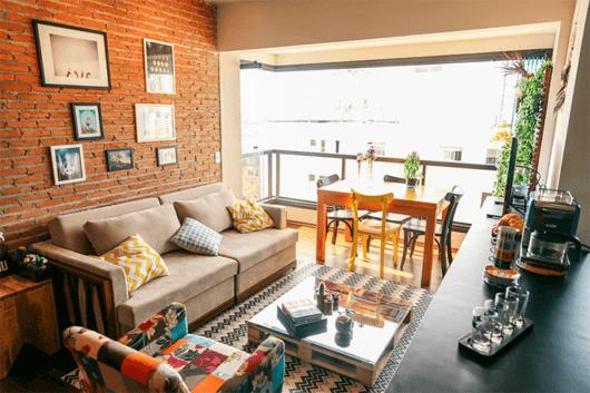 Fotos e modelos de Sala de Estar e Jantar integradas ~ Sala De Estar E Jantar Integradas Apartamento Pequeno