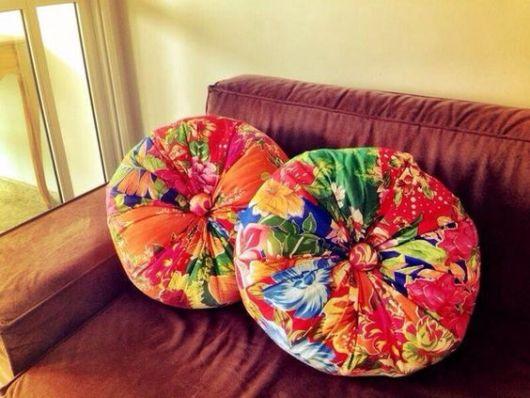 almofada de chita