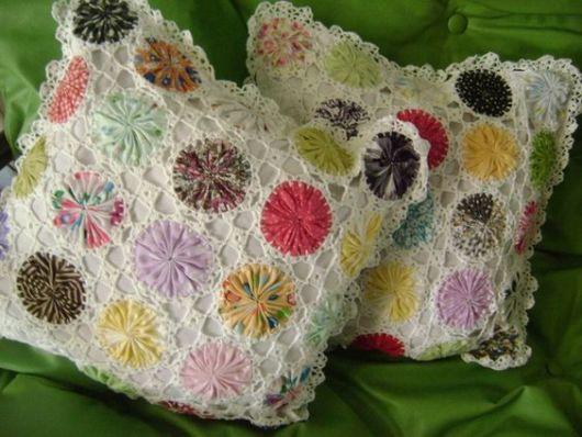 crochê branco