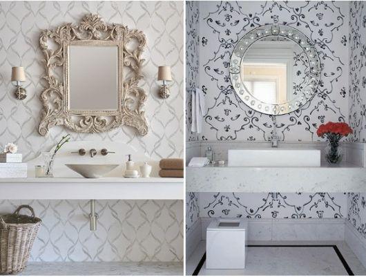 aparador-com-espelho-veneziano-com-papel-de-parede