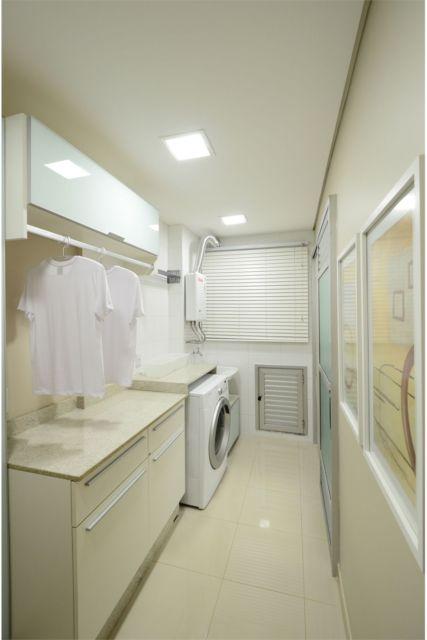 cortina lavanderia