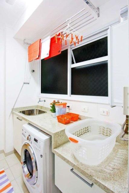 lavanderia apartamento pequeno