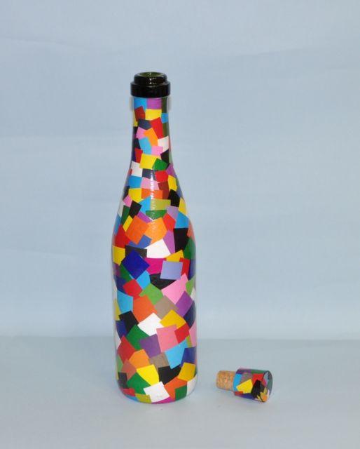 mosaico de papel