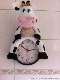 decoração vaca cozinha