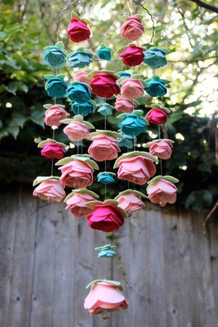 flores em móbile