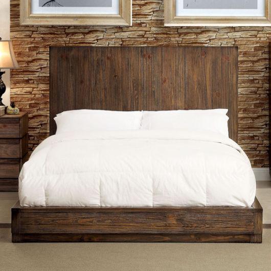 cama baixa cabeceira
