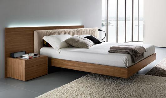 cama baixa luxo