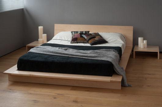 cama baixa modelo rustico