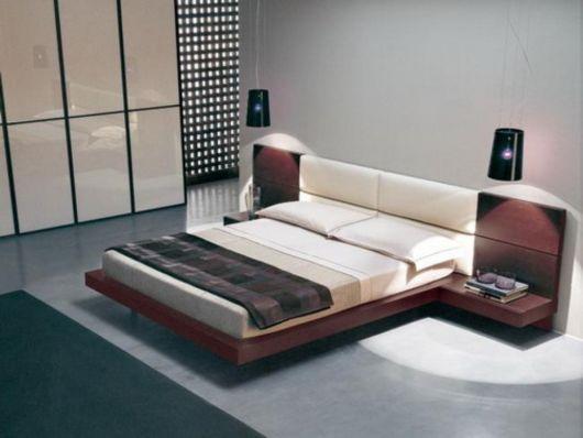 cama baixa moderna ideias
