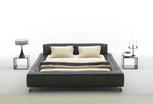 cama baixa moderna
