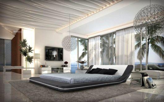 cama baixa plataforma