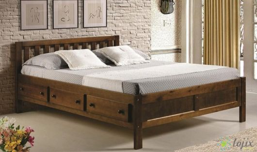 camas de madeira gaveteiro