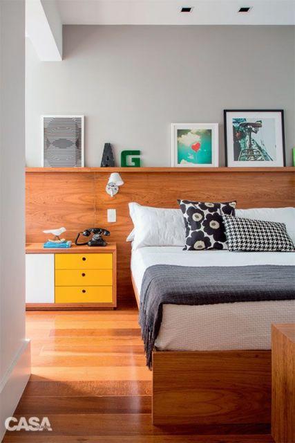 camas de madeira - modernas
