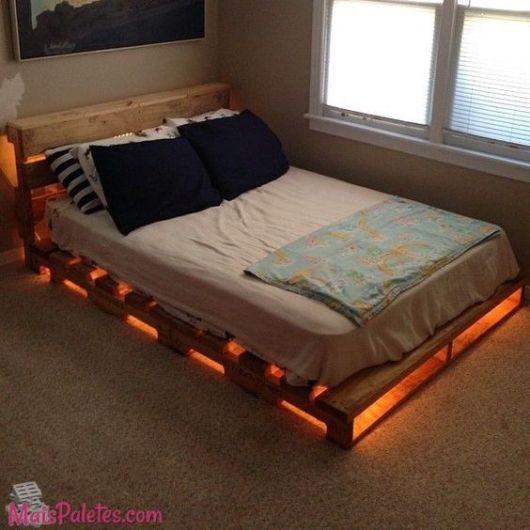 camas de madeira palete