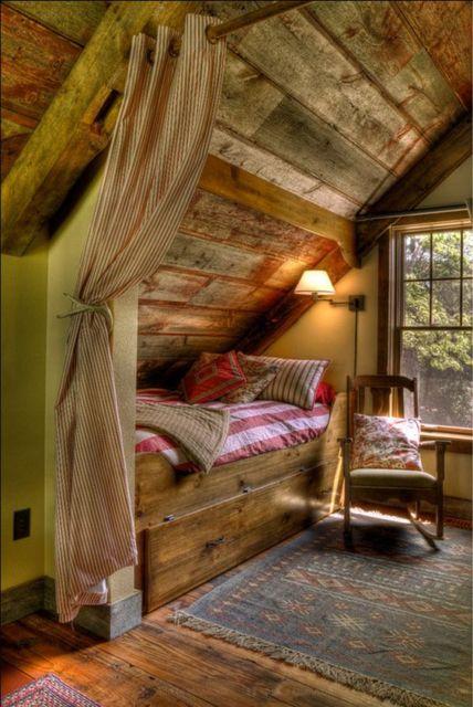 camas de madeira rústicas