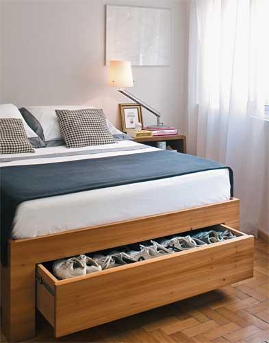 camas de madeira sapateira