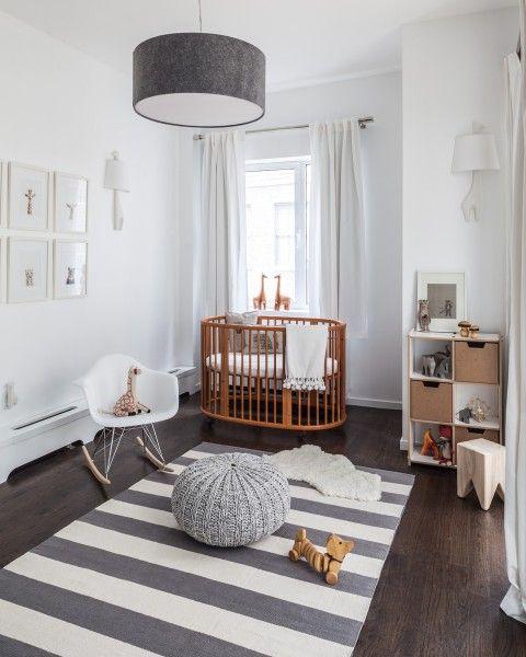 piso quarto de bebê