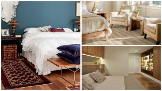 quarto com carpete