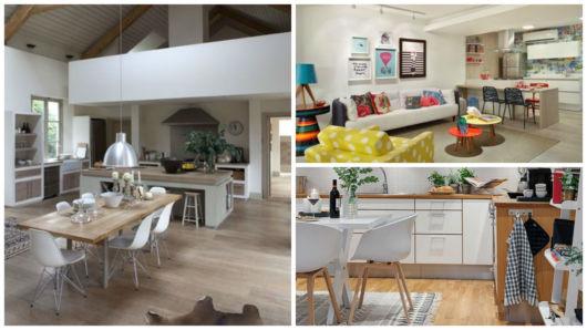 piso madeira cozinha