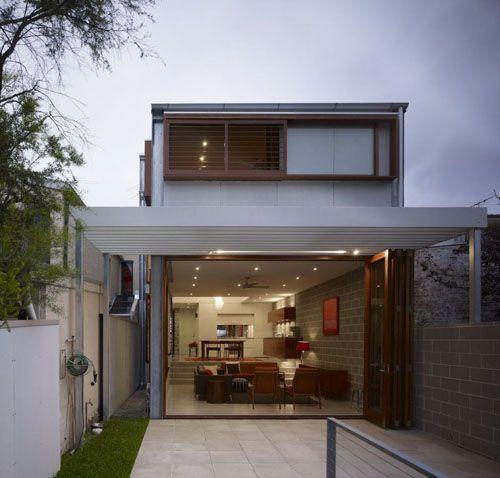 casa moderna vidro